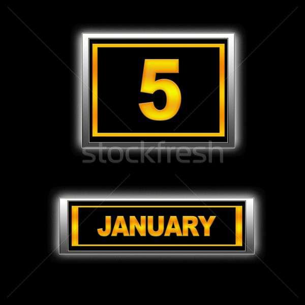 January 5. Stock photo © asturianu