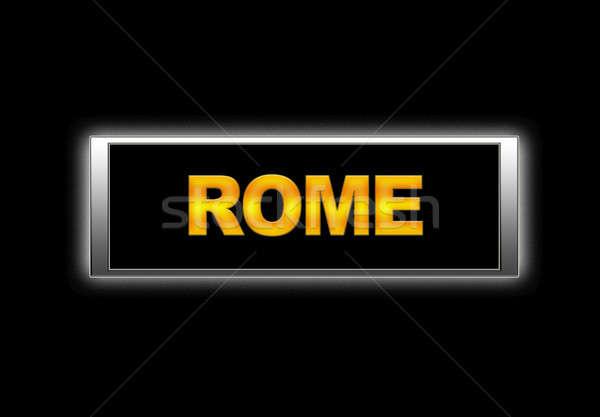 Rome. Stock photo © asturianu