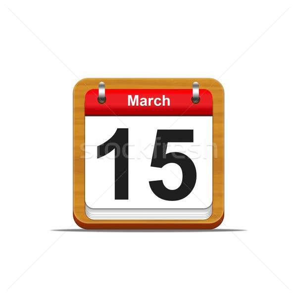 March 15. Stock photo © asturianu