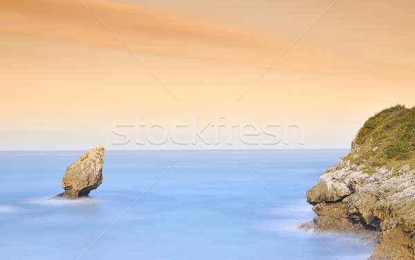 Buelna Beach. Stock photo © asturianu