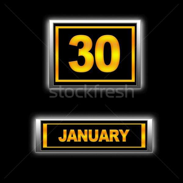 January 30. Stock photo © asturianu