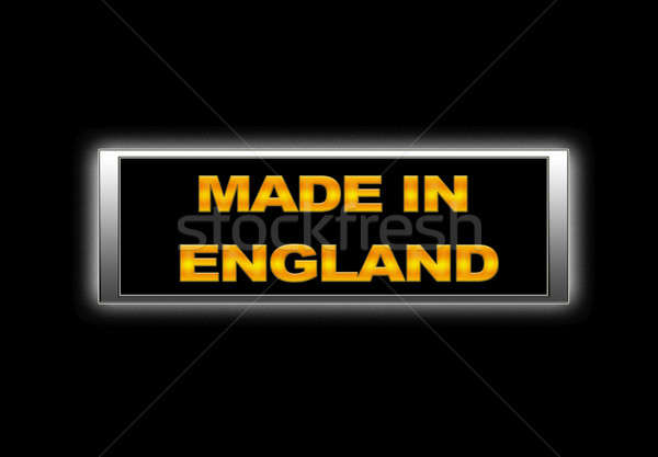 Made in England. Stock photo © asturianu