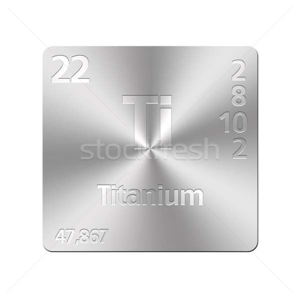 Titanium. Stock photo © asturianu