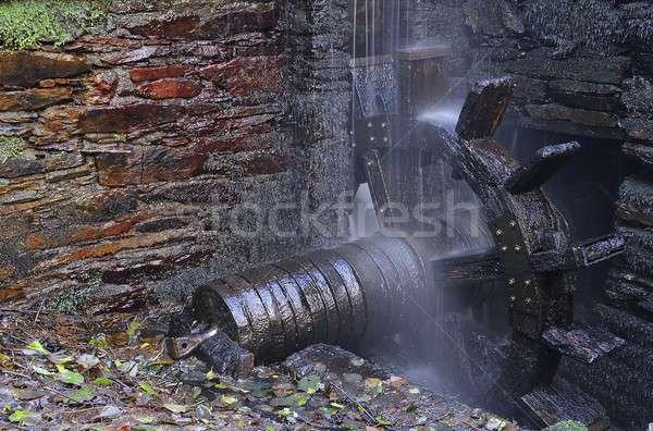 Water wheel forge. Stock photo © asturianu