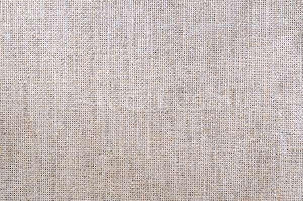 Toile de jute tissu détail résumé fond drap Photo stock © asturianu