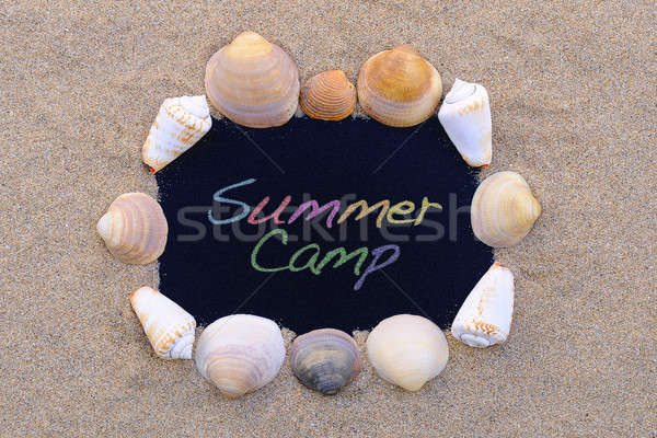 Summer Camp. Stock photo © asturianu