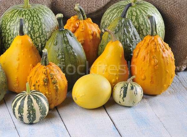 Grzech owoców jesienią spadek żółty Zdjęcia stock © asturianu