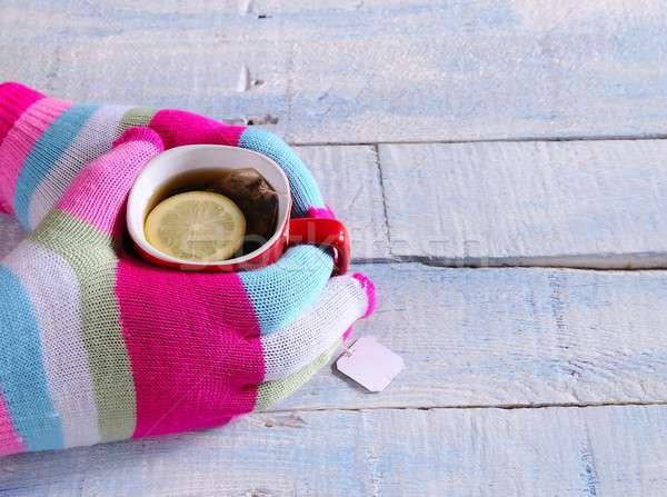 Hot tea. Stock photo © asturianu