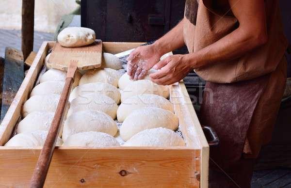 Raw bread dough Stock photo © asturianu