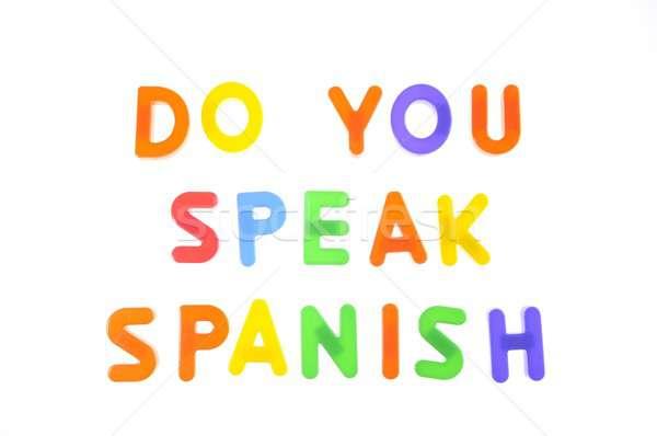 Do you speak spanish. Stock photo © asturianu