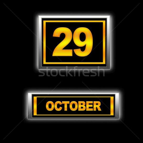 October 29. Stock photo © asturianu