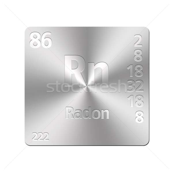 Radon, Rn. Stock photo © asturianu