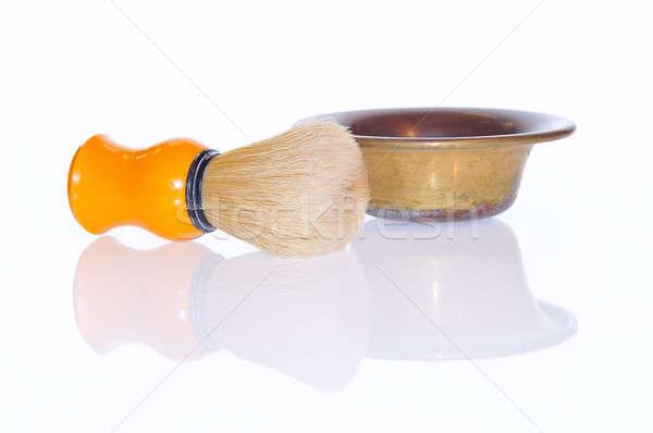 Shaving brush. Stock photo © asturianu