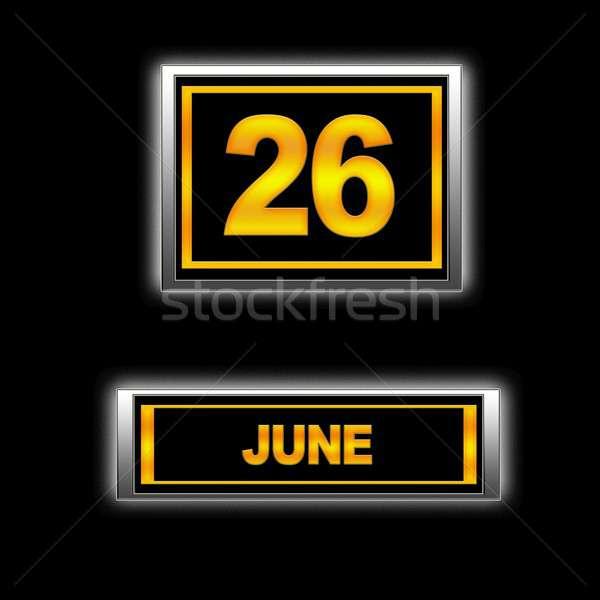 June 26. Stock photo © asturianu