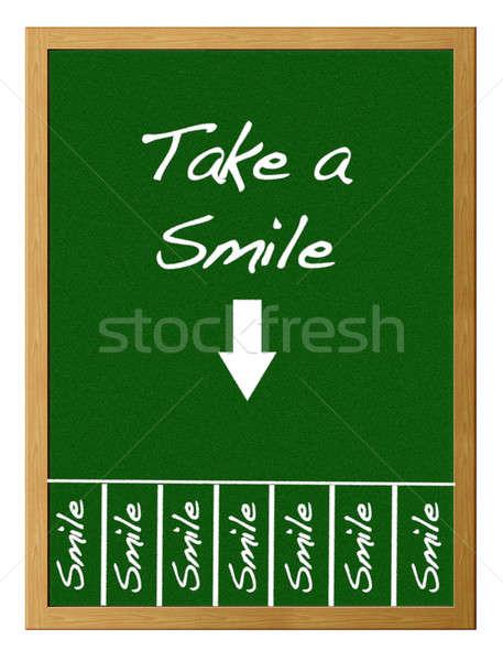Take a smile. Stock photo © asturianu