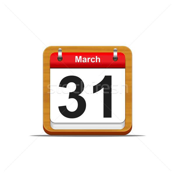 March 31. Stock photo © asturianu