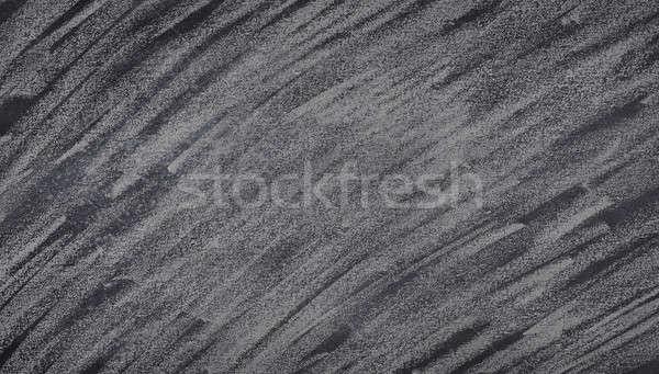 Blackboard with chalk scratches . Stock photo © asturianu