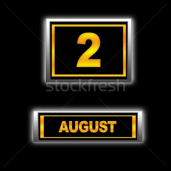 August 2. Stock photo © asturianu