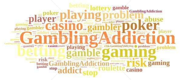 Gambling addiction. Stock photo © asturianu