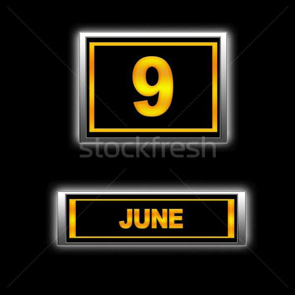 June 9. Stock photo © asturianu