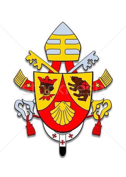 Coat of arms Benedicto XVI. Stock photo © asturianu