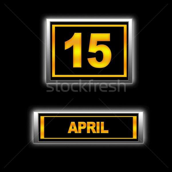 April 15. Stock photo © asturianu