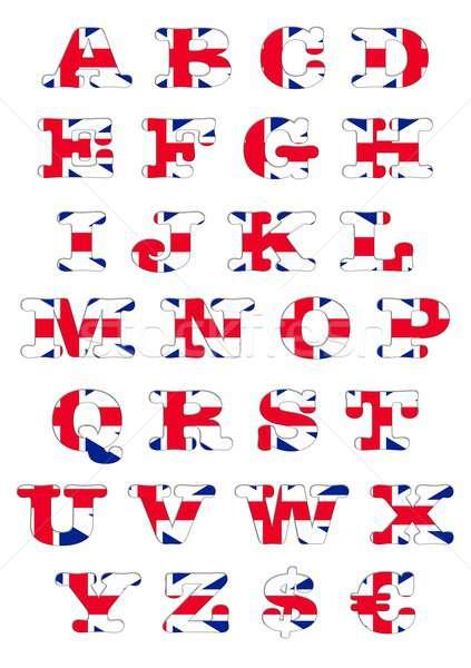 United Kingdom Abc. Stock photo © asturianu