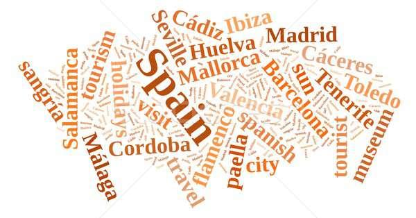 Visit Spain. Stock photo © asturianu