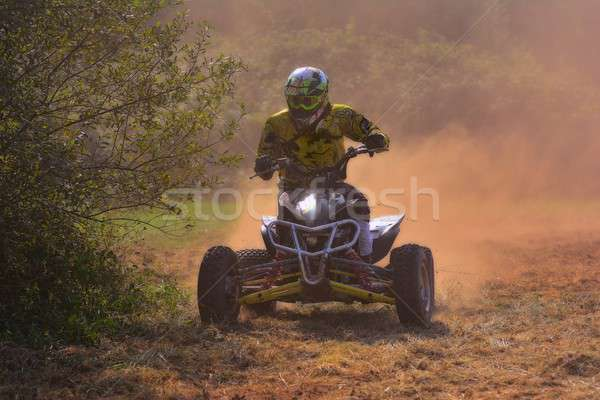 Rider on a quad motorbike. Stock photo © asturianu