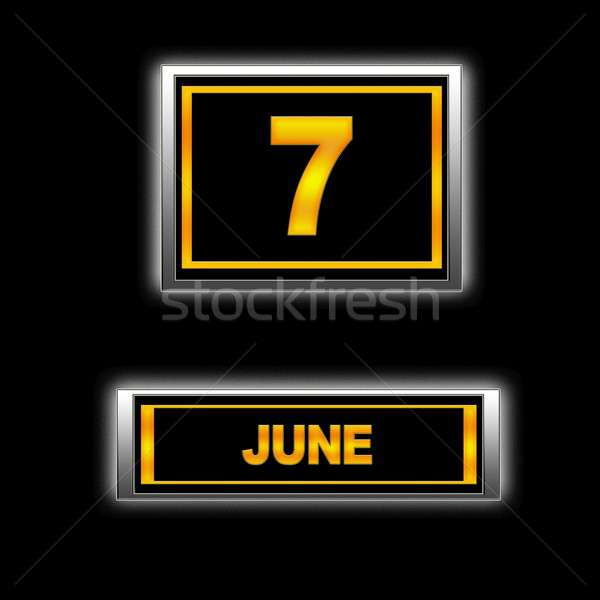 June 7. Stock photo © asturianu