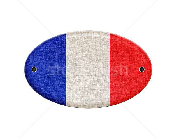 Wooden sign of France. Stock photo © asturianu
