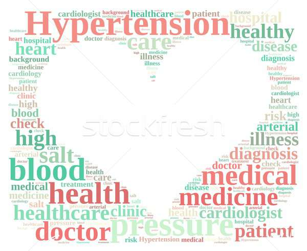 Hypertension. Stock photo © asturianu