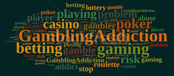 Gambling addiction. Stock photo © asturianu