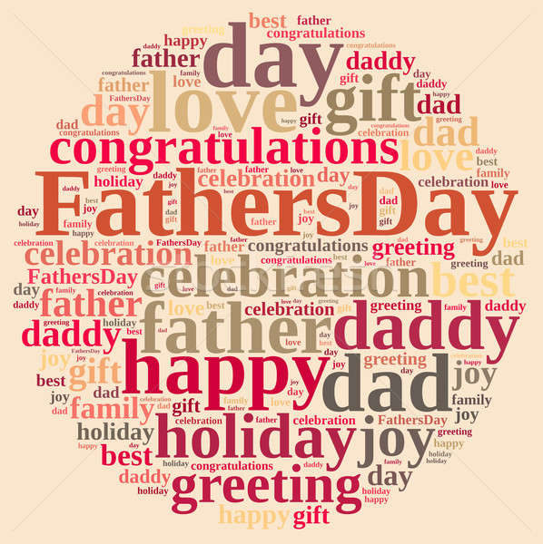 Fathers Day. Stock photo © asturianu