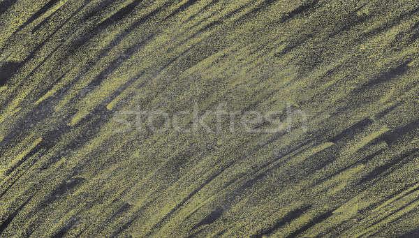 Iskolatábla citromsárga kréta űr ír textúra Stock fotó © asturianu