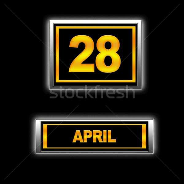 April 28. Stock photo © asturianu