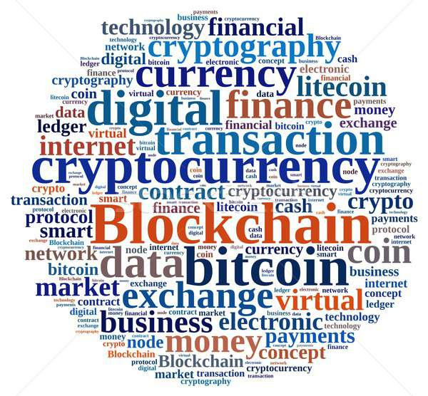 Words cloud with Blockchain stock photo © asturianu (#6541316