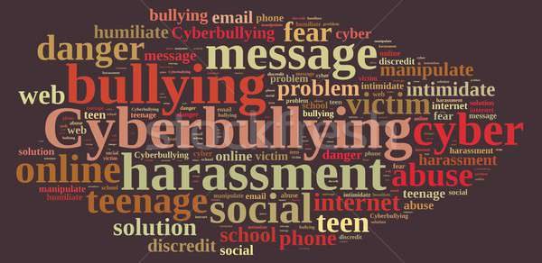 Cyberbullying. Stock photo © asturianu