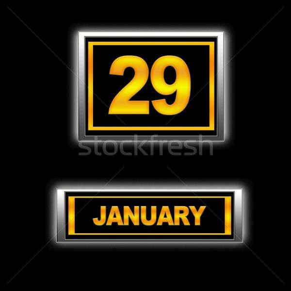 January 29. Stock photo © asturianu