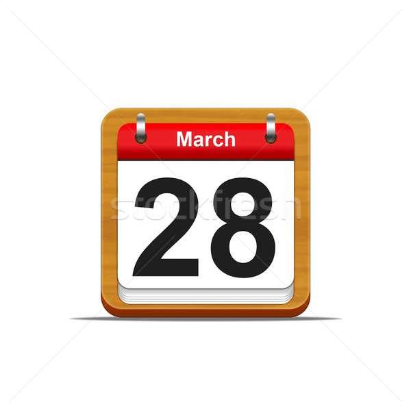 March 28. Stock photo © asturianu