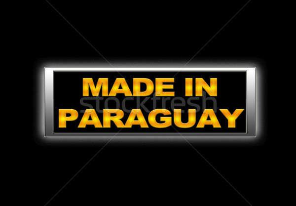 Paraguay segno business design finanziare Foto d'archivio © asturianu