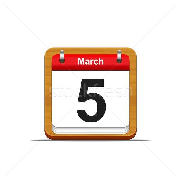 March 5. Stock photo © asturianu