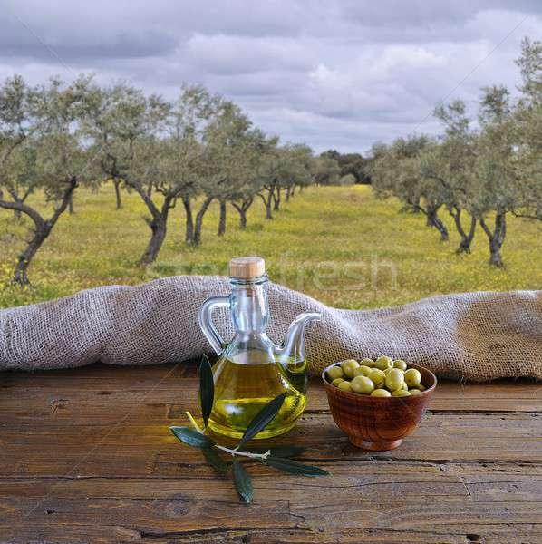 Olive oil. Stock photo © asturianu