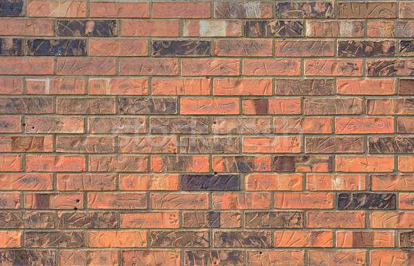 старые красный кирпичная стена текстуры стены каменные Сток-фото © asturianu