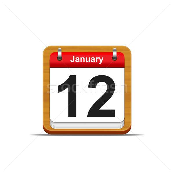 January 12. Stock photo © asturianu