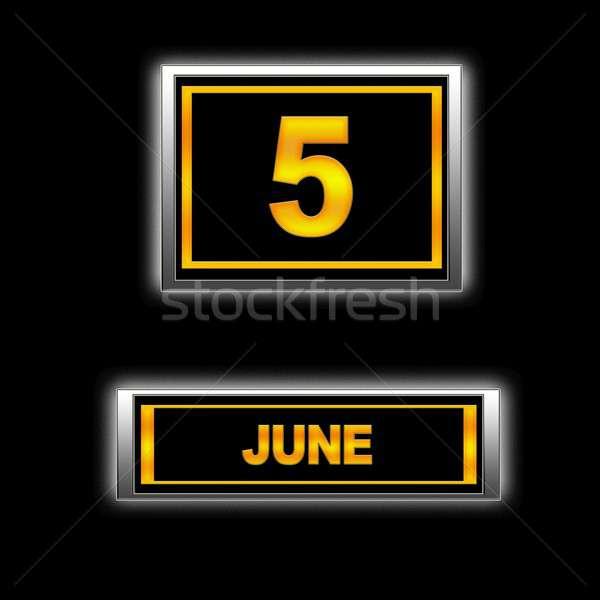 June 5. Stock photo © asturianu