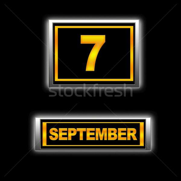 September 7. Stock photo © asturianu
