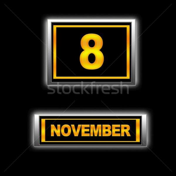 November 8. Stock photo © asturianu