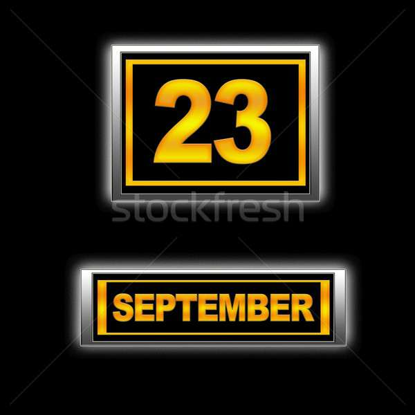 September 23. Stock photo © asturianu