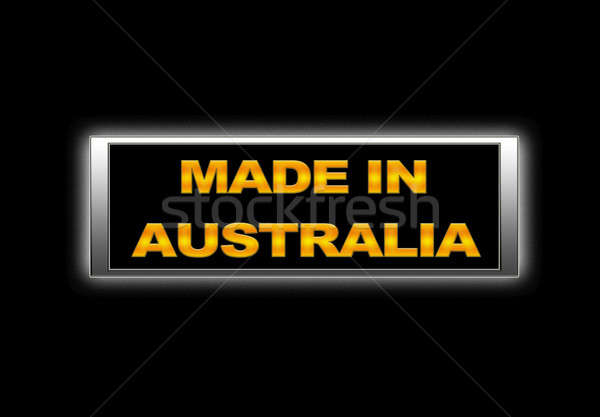 Made in Australia. Stock photo © asturianu